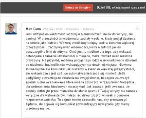 Matt Cutts story
